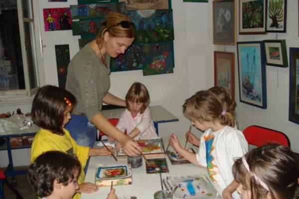 djecja likovna radionica art and hobby rijeka