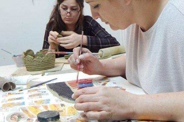 Likovna radionica Art and Hobby; tečaj kiparenja i lončarenja