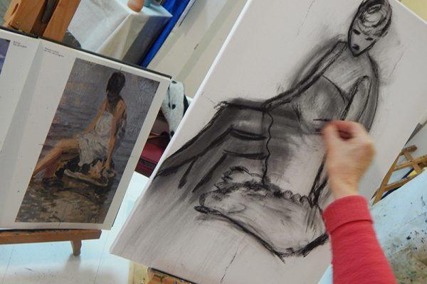Likovna radionica Art and Hobby; radionica priprema za umjetničku školu i akademiju Rijeka