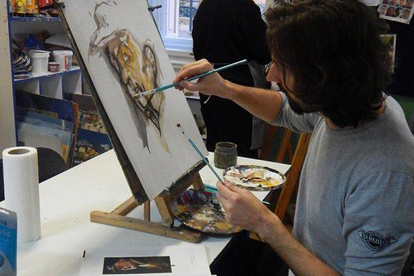 Likovna radionica Art and Hobby Rijeka; Tečaj slikarstva i crtanja ta svih doba polaznika