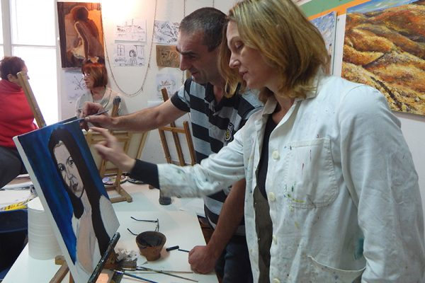 tečaj slikarstva i crtanja likovna radionica Art and Hobby