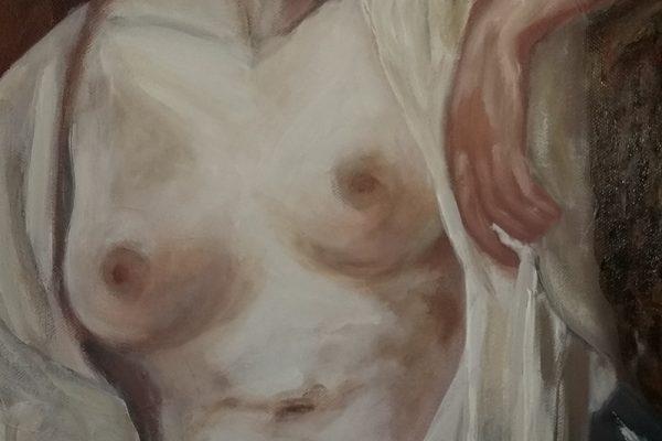 Alena Braković umjetnica i polaznica likovne radionice Art and Hobby
