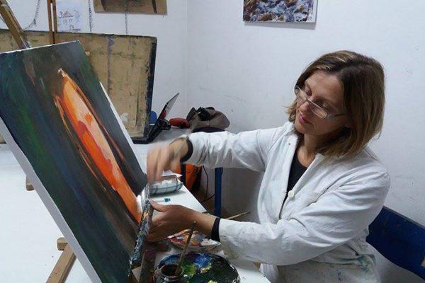 Dijana Lukić; Likovna radionica Art and Hobby
