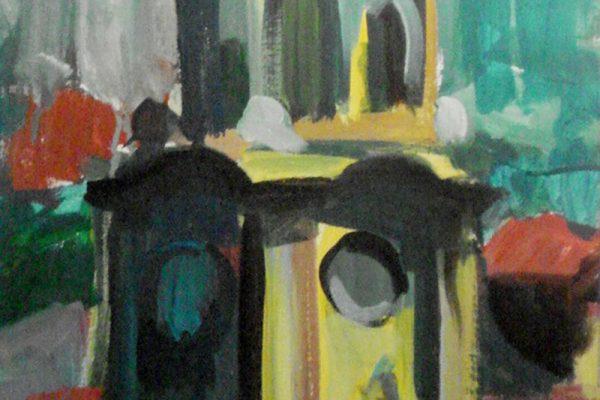 dijana lukic umjetnicki radovi slikarstvo i kiparstvo rijeka kategorija pejzazi brodovi krovovi reljefi rijecka ura na korzu