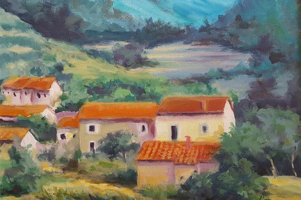 Ljiljana Krstin Brezac slikarica likovne radionice Art and Hobby Rijeka