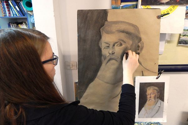 pripremni tecaj za umjetnicke skole i akademije likovna radionica art and hobby rijeka